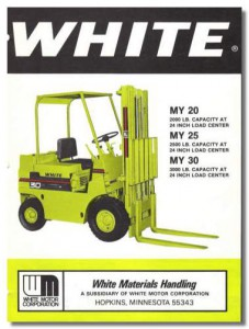 Old White or Moline Part or Service Manuals - Toyota Lift Equipment