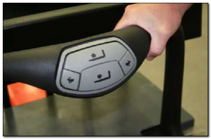 toyota forklift ergonomic handle
