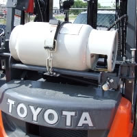 toyota propane lift trucks
