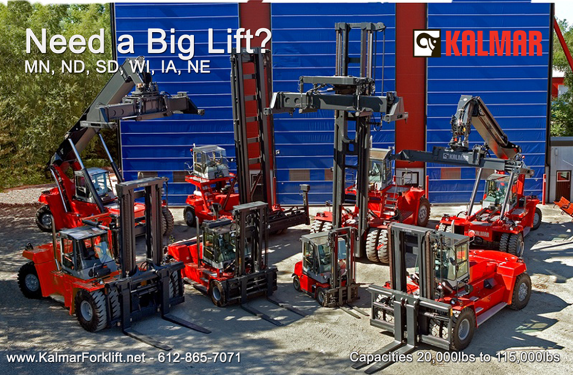 Kalmar Forklifts New Frontiers Toyota Lift Equipment