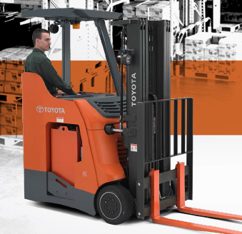 Toyota Forklift New Stand Up Rider Toyota Lift Equipment
