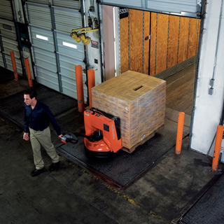 Rent a pallet jack toyota lift rentals in minneapolis mn for Motorized pallet jack rental