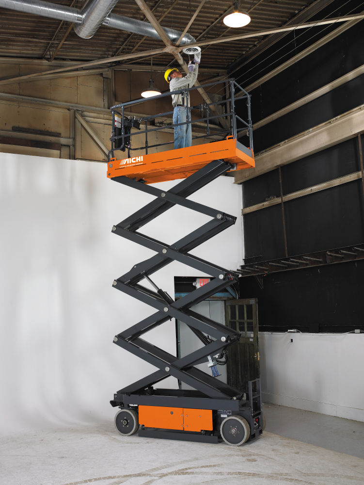 Rent An Electric Scissor Or Boom Lift Rentals In Minneapolis Mn Amp Wi