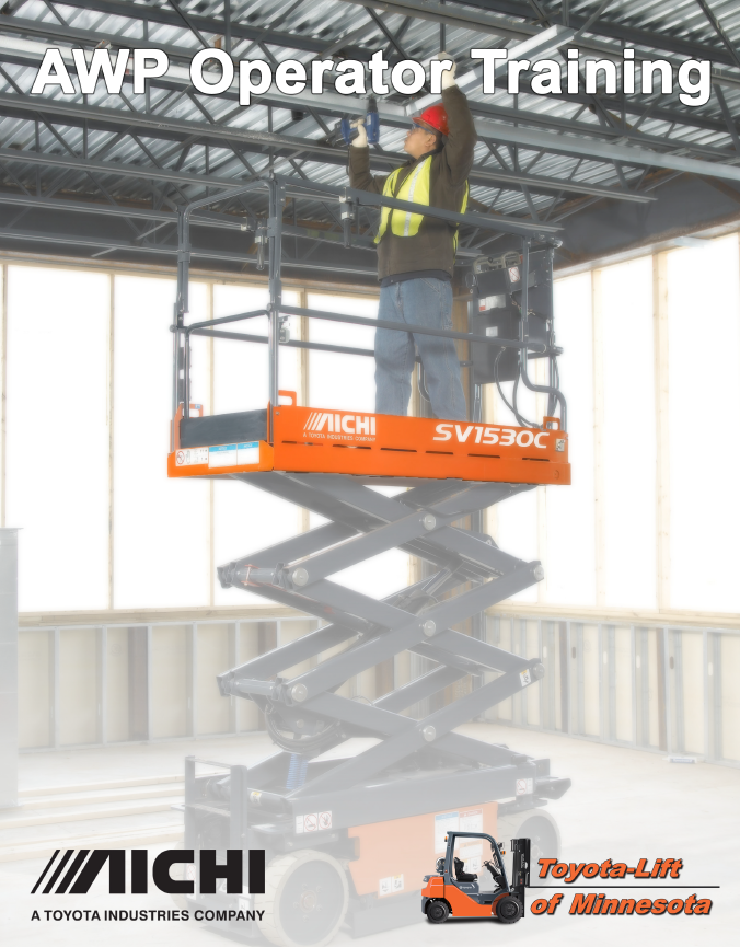 scissor lift training cover
