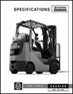 toyota straddle stacker specification manual