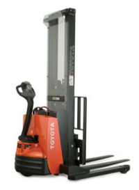 toyota adjustable stacker