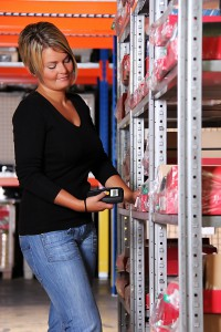 warehouse inventory staffer