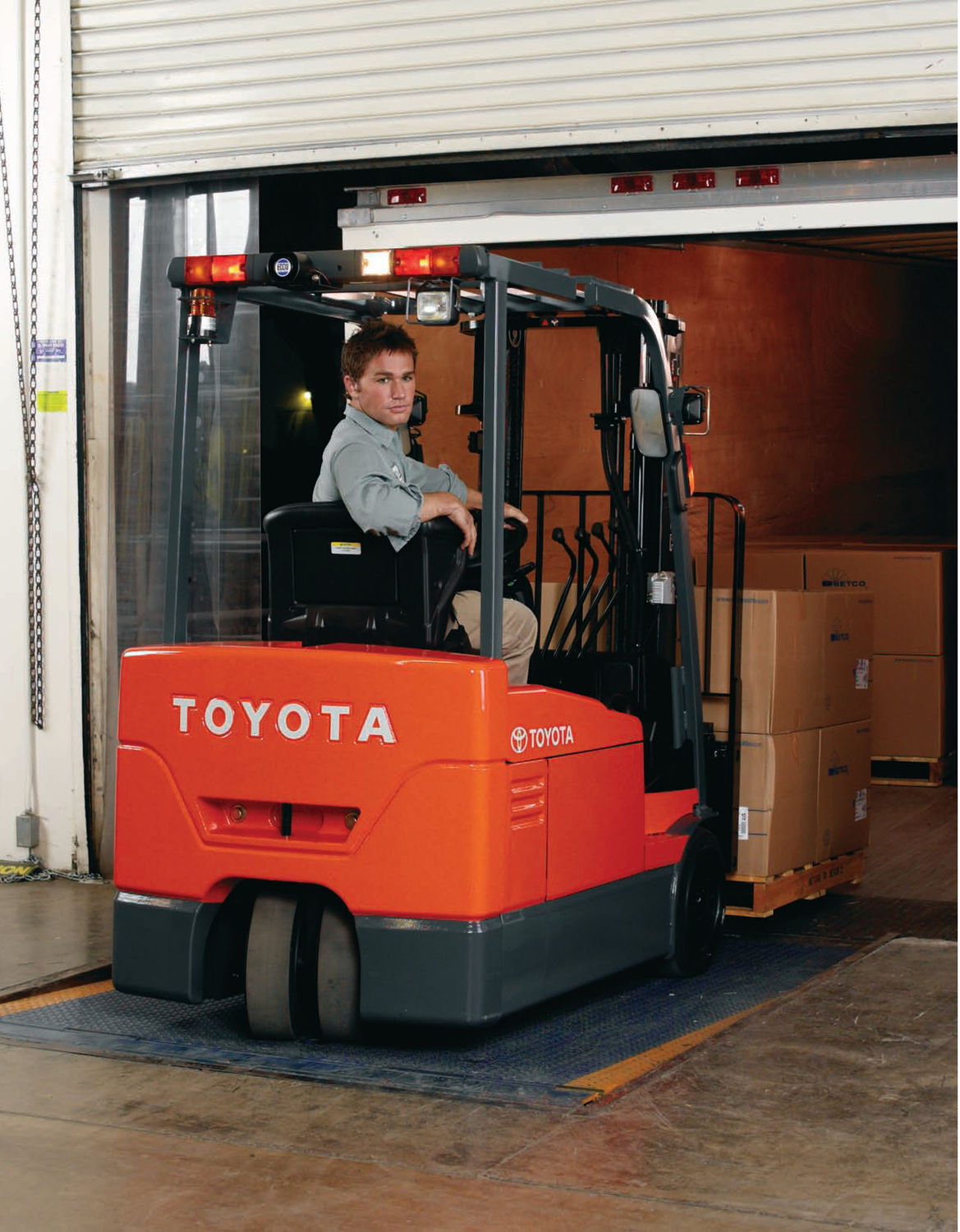Fork Lift Wheels : Sweet success with toyota forklift at butternut farms