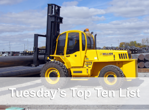 top 10 forklift photo