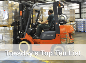 top ten forklift photo