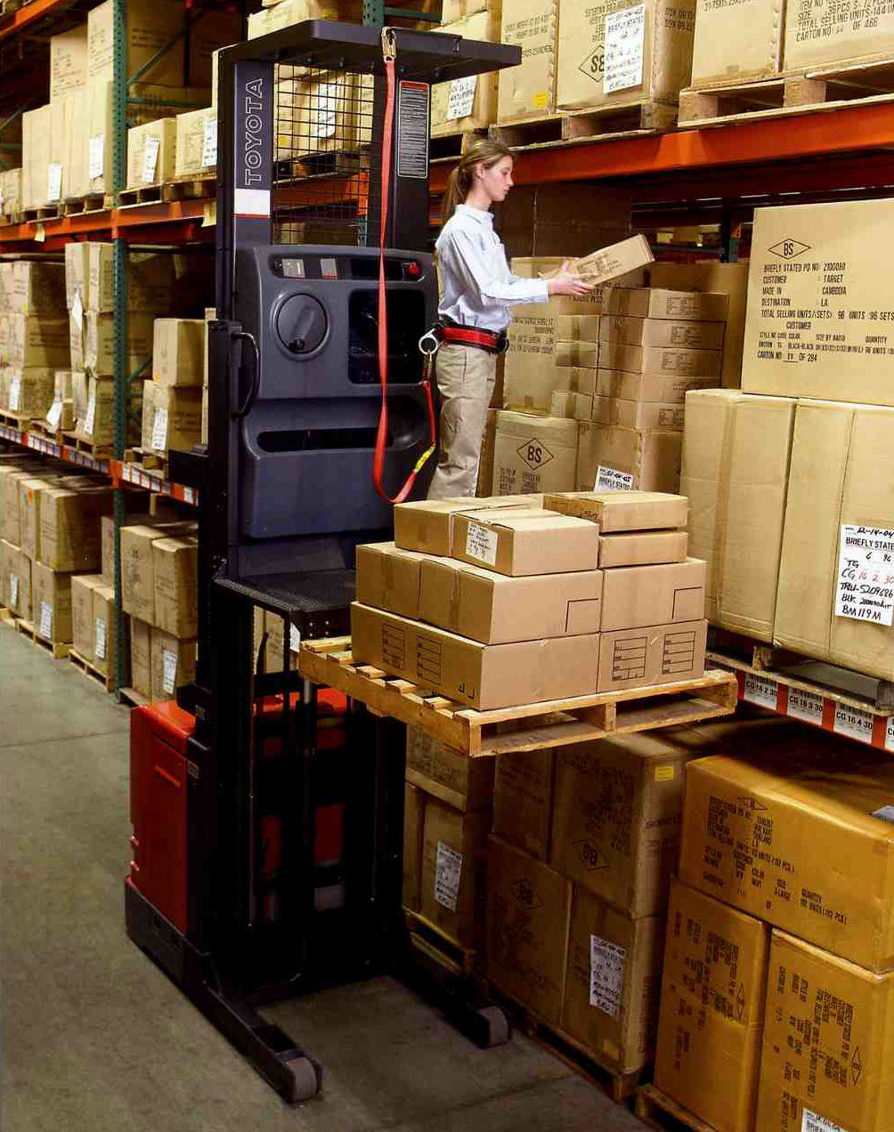 Lift truck maintenance changing currents and approach for Serie warehouse
