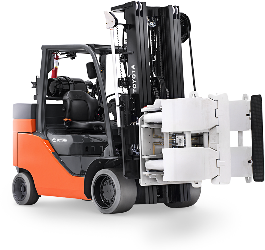Clamp Forklift Controls : Forks are a forklift s most popular attachment but that
