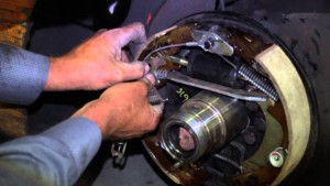 toyota forklift brakes repair by technician