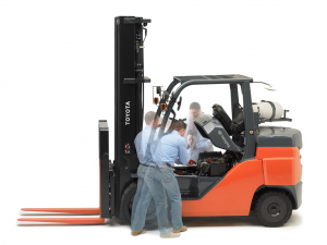 pre-operation forklift checklists work