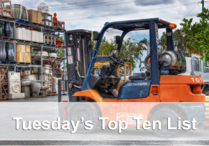 top ten forklift picture