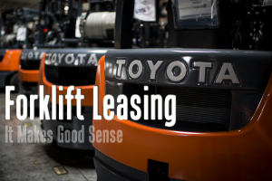 forklift lease toyota