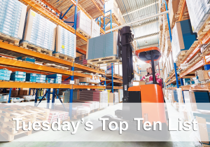 top 10 forklift posts