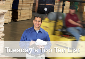 top ten forklift posts