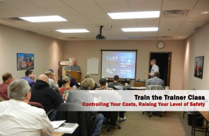 train the trainer forklift safety