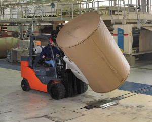 toyota forklift paper roll clamp special