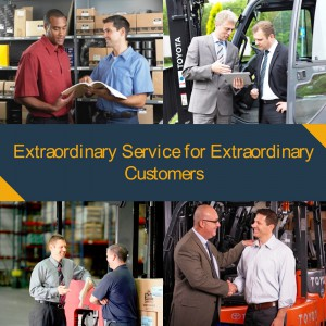 extrodinary customer service collage