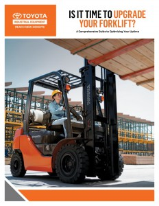 toyota upgrade replace forklift
