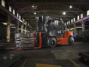 toyota forklift in foundry